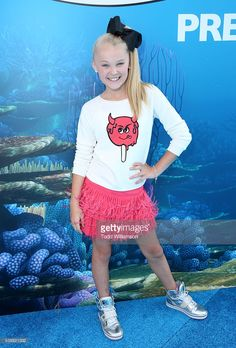 Actress jojo Siwa attends the world premiere of Disney-Pixar's... News Photo | Getty Images