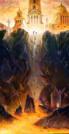 Heaven + Hell by AndrewRyanArt.deviantart.com