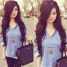 Her Hair Is GORGEOUS!♥♥