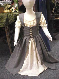 Little Maiden Medieval Dress size 3T