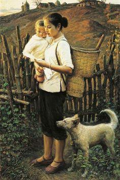 El Hurgador [Arte en la Red]: Pintando perros (XXXVII) - China (I)