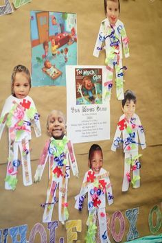 """After reading """"Too Much Glue"""" students make themselves their very own glue suits. Preschool Books, Kindergarten Art, Kindergarten Literacy, Classroom Activities, Book Activities, Toddler Activities, Preschool Activities, All About Me Preschool Theme, Therapy Activities"""