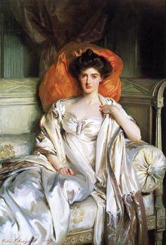 The Athenaeum - Mrs. Huth Jackson (Clara Annabel Caroline Grant Duff) (John Singer Sargent - 1907)