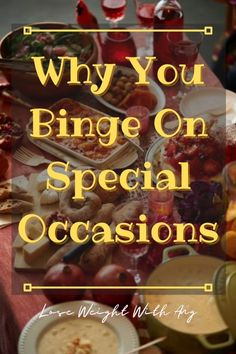 The holidays are a time to gather with your family and friends and enjoy each other's company. BUT it could mean hell for someone suffering from binge eating disorder. Here's how you can avoid overdoing it on special occasions. Click the pin to keep reading! ----- BED Eating Disorder, Holiday Binging, Mental Roadblocks, Overindulging, Overeating, Stress eating