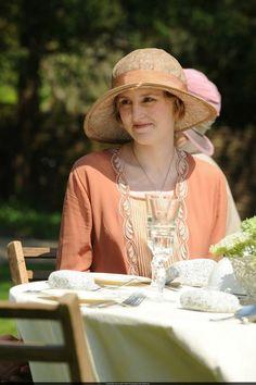 """old-fashionedcharm: """" Edith in Downton Abbey """""""
