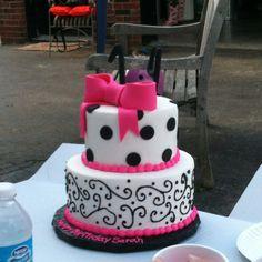 My 14th birthday cake:) chocolate and mocha!