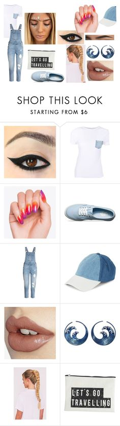 """""""Denim"""" by shoe-kid ❤ liked on Polyvore featuring Helmut Lang, Vans, Steve Madden, House Doctor, denim, casualoutfit and women"""