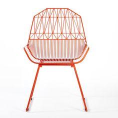 Farmhouse Chair Orange, $441, now featured on Fab.
