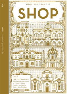 SHOP magazine is the international luxury shopping, travel and lifestyle guide published by Global Blue. With some of the worlds top illustrators contributing to the their magazine, we were fortunate to work on four of their covers. The illustrations are …