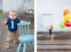Getting ideas for 1 year old pictures!