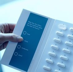 Smart packaging can also be used to collect data on a patient's satisfaction with a particular medication. Image courtesy of Cypak. - Image - Pharmaceutical Technology
