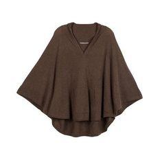 Cashmere Poncho Sweater