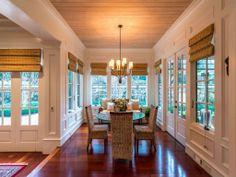 Wood. House.