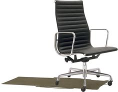 Eames Aluminum Group Executive Chair  ハーマンミラーストアで座った。これはすごい。