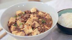 麻婆豆腐  Má pó dòufu