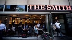 If you're posting up at Lincoln Center, eat at The Smith in between shows:
