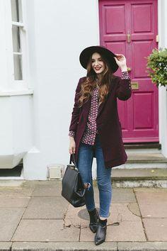 Burgundy in Brighton - What Olivia Did