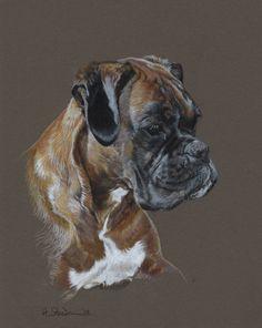 Betty by ~Utlah on deviantART ~ Boxer dog