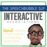 It's Back to School season and this visual activity is great for your young elementary classroom! Interactive associations will be developed as the students match objects! Perfect for your special education, language arts or speech therapy room. #miniless
