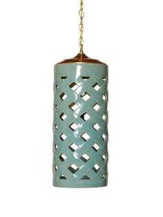 Crisscross Pendant Light by Emissary on Gilt Home