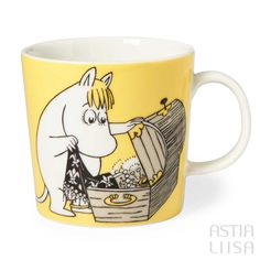 Moomin Mugs. Arabia Finland with beloved Finnish characters Nordic Home, Scandinavian Home, Moomin Mugs, Tove Jansson, Cute Mugs, Marimekko, My Collection, Just In Case, Branding Design