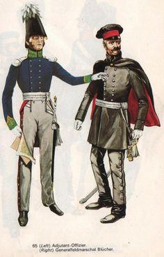PRUSSIEN Officier Adjudant General Feldmarschal Blucher