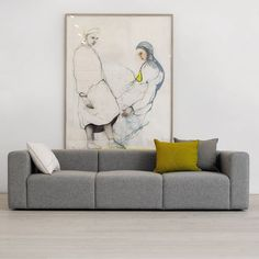Mags Sofa 3 Seat Grey Hay | negreshop NEGREshop