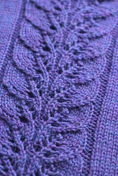 Lovely lace panel.  Ravelry: Dapple Cowl pattern by Playing With Fibre {free}