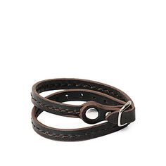 Cool black leather bracelet Struggling with acne?