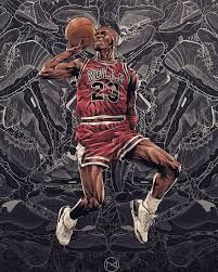 A young Michael Jordan with the Chicago Bulls flies through the air against the backdrop of his future shoe legacy in this epic piece. Basketball Art, Basketball Legends, Basketball Pictures, Basketball Players, Basketball Schedule, Michael Jordan Art, Michael Jordan Pictures, Michael Jordan Basketball, Michael Jordan Tattoo