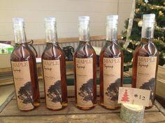 Kondysar maple syrup . Kraft labels