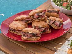 Cocoa-Rubbed Flank Steak Sandwiches