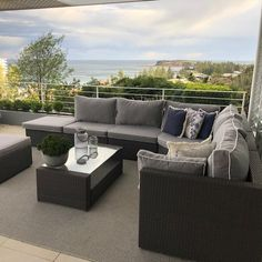 """If you want to just fall into your outdoor lounge at the end of the week with a glass of wine 🍷, then consider a nice and soft fill for your back cushions. 😌 These cushions are filled with a special mix of crushed foam and fibre we call """"Pillow Mix"""" and it can be used on not only outdoor lounge cushions, but also on your indoor lounge or daybed! 😍 Now that's a place to enjoy good times with family and friends (or let's face it - a good book and a coffee) 😍📚☕ Outdoor Lounge Cushions, Outdoor Cushion Covers, Patio Cushions, Outdoor Lounge Furniture, Outdoor Chairs, Outdoor Spaces, Outdoor Living, Cushion Inspiration, Colour Trends"""