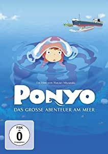 Ponyo - Das grosse Abenteuer am Meer (DVD) Tsunami, Miyazaki, Totoro, Studio Ghibli, Song Of The Sea, Instant Video, Animation, Am Meer, Movie Collection