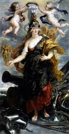 Marie de Medicis as Bellona - Peter Paul Rubens
