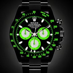 Rolex Daytona Simulator Black-Out Concept Relojes hombres Rolex Daytona, Dream Watches, Cool Watches, Rolex Watches, Vintage Watches For Men, Luxury Watches For Men, Black Rolex, Herren Chronograph, Automatic Watches For Men
