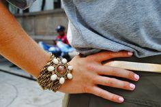 Pin/Pendant necklace turned into a bracelet!