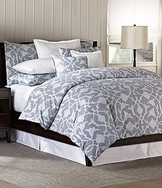 barbara barry poetical denim comforter set dillards - Barbara Barry Bedding