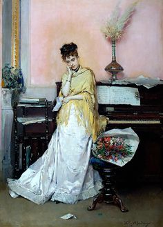 ♪ The Musical Arts ♪ music musician paintings - Raimundo de Madrazo