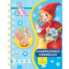 Livro Infantil Chapeuzinho Vermelho Coleção Meus Livros Favoritos Blu Editora