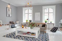 color paret. blanc i potser algo gris??  Trucos para multiplicar metros en un piso romántico | Decorar tu casa es facilisimo.com