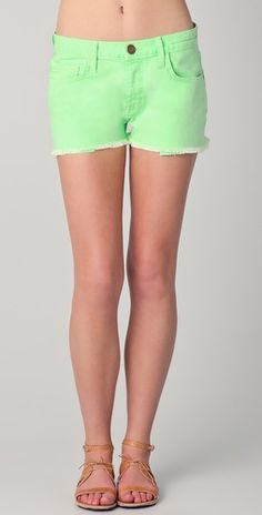its taking all my will power to not buy these at this moment....lime green boyfriend shorts