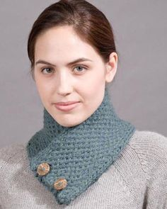 Loom knitted Neck Warmer