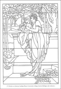 Color Your Own Tiffany Windows | Additional Photo (Inside Page)