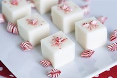 Candy Cane Martini Jello Shots (from Tablespoon)