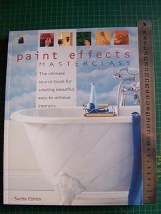 Paint Effects Masterclass Paint Effects, Master Class, My Favorite Things, Interior, Books, Crafts, Painting, Beautiful, Products