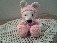 amigurumi bébé ours en pyjama vendu : Jeux, peluches, doudous par stella1957