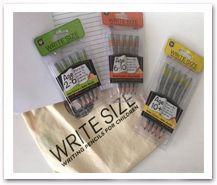 Kiwi Mummy Blogs - Write Size Pencils