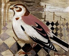 Mary Fedden - Snow Bunting (1956)