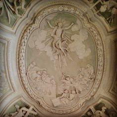 Oratorio di San Francesco dei Nobili, Perugia. Volta barocca. #Perugia2019 foto di @lddio